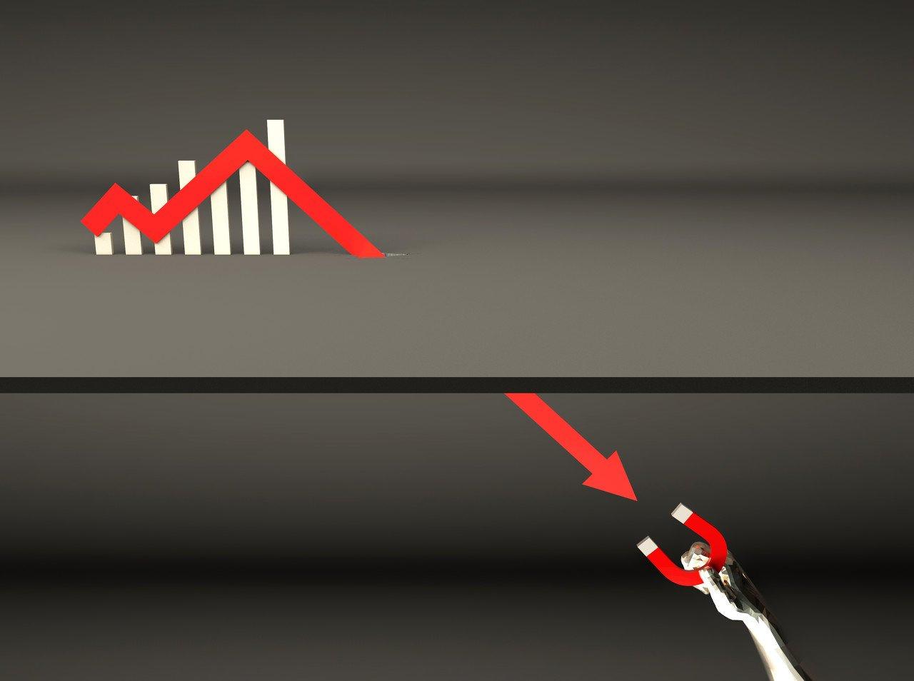 4万多股东焦虑!龙头股天天大涨,这只个股却连续6个跌停