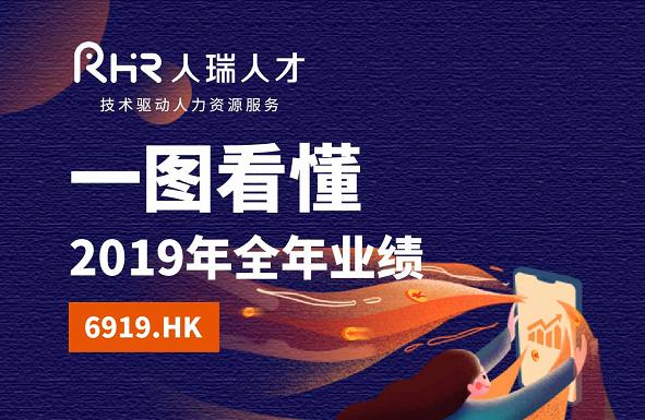 一图看懂人瑞人才(6919.HK)2019年全年业绩