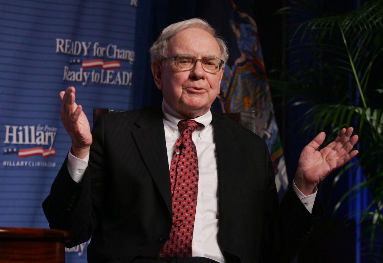 美股大崩盘,手握1300亿现金的巴菲特会抄底什么?
