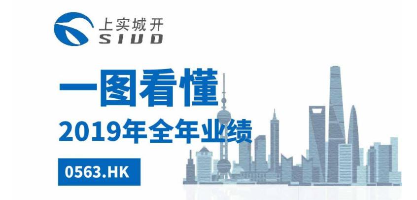 一图看懂上实城市开发(00563.HK)2019全年业绩