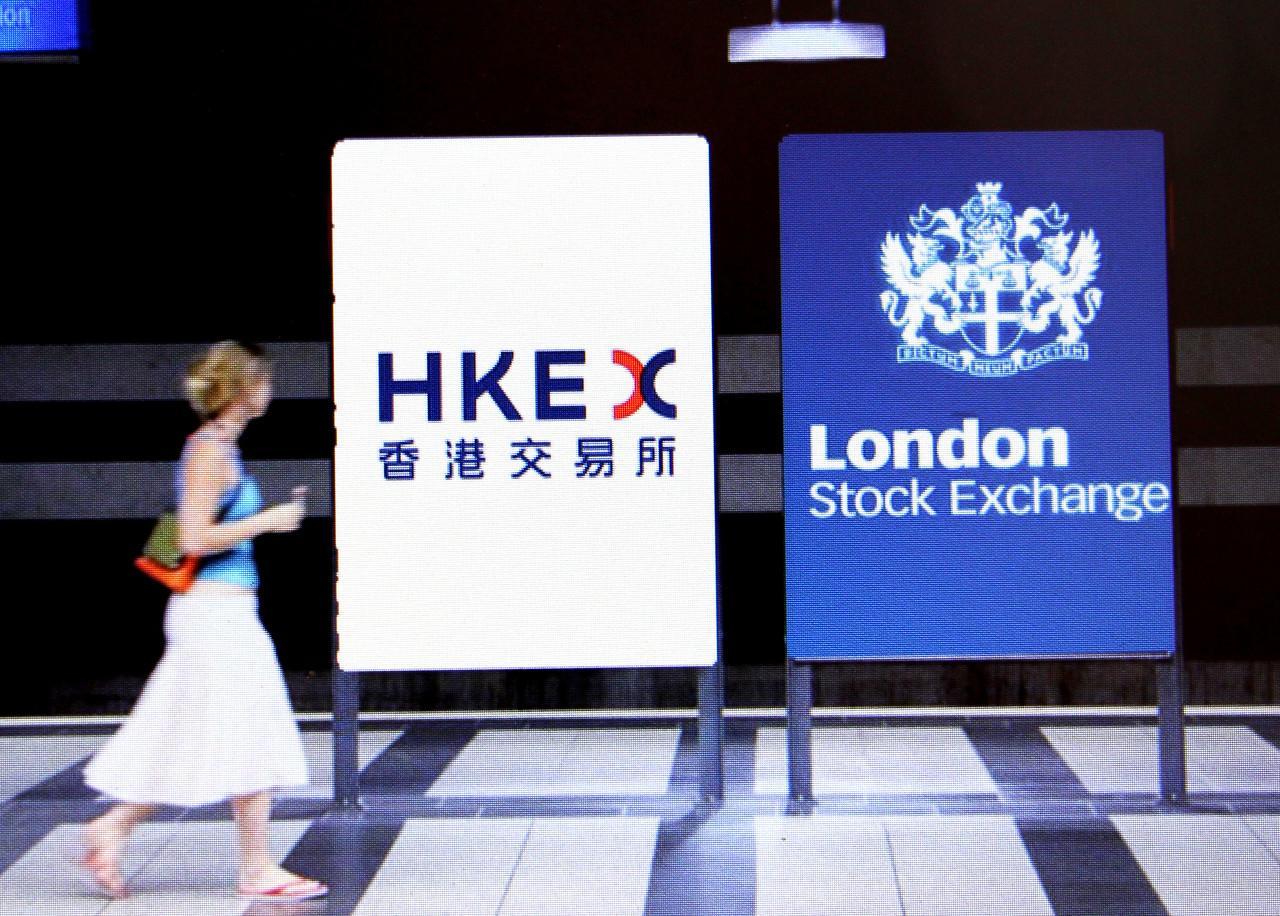 """香港""""买""""伦敦"""