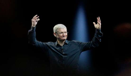 """库克打脸""""怀疑论"""":运营人也能使苹果股价涨近5倍"""